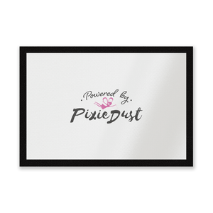 Powered By Pixie Dust Entrance Mat