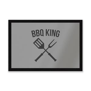 BBQ King Entrance Mat
