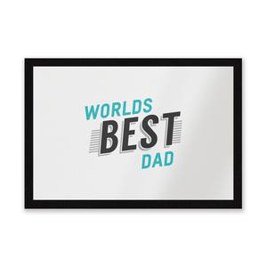 Worlds Best Dad Entrance Mat