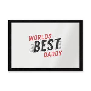 Worlds Best Daddy Entrance Mat