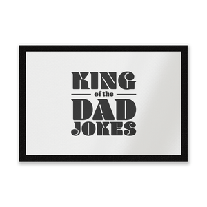 King Of The Dad Jokes Entrance Mat