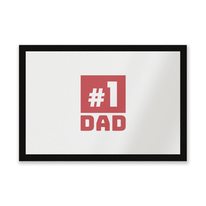 Number 1 Dad Entrance Mat
