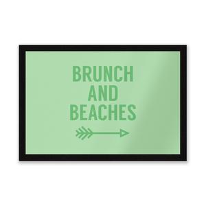 Brunch And Beaches Entrance Mat