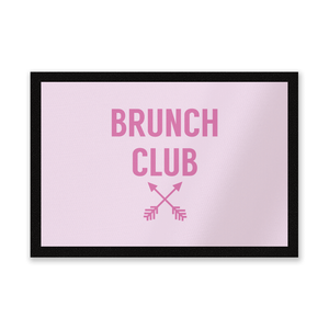 Brunch Club Entrance Mat