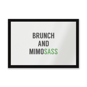 Brunch And Mimosass Entrance Mat