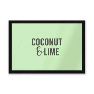 Coconut And Lime Entrance Mat