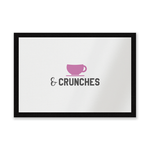Coffee And Crunches Entrance Mat