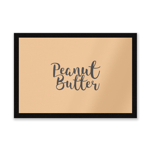 Peanut Butter Entrance Mat