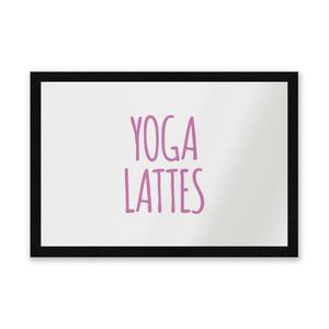 Yoga Lattes Entrance Mat