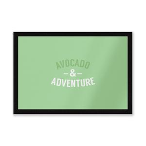 Avocado And Adventure Entrance Mat
