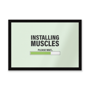Installing Muscles Entrance Mat