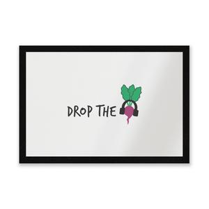 Drop The Beet Entrance Mat