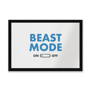 Beast Mode On Entrance Mat