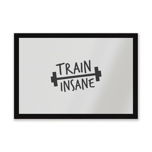 Train Insane Entrance Mat