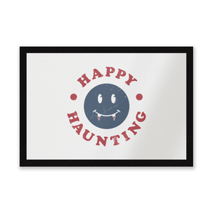 Happy Haunting Fang Entrance Mat