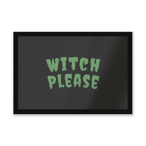 Witch Please Entrance Mat