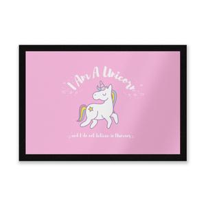 I Am A Unicorn Entrance Mat