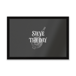 Sieve The Day Entrance Mat