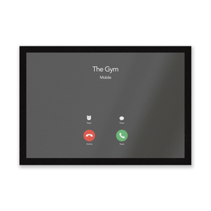 Gym Calling Entrance Mat
