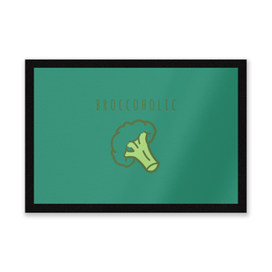 Broccoholic Entrance Mat