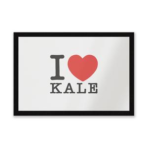 I Heart Kale Entrance Mat