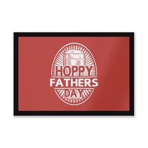 Hoppy Fathers Day Entrance Mat