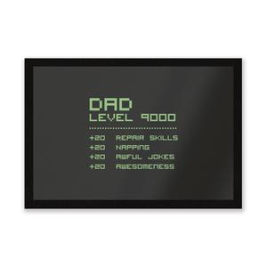 Dad Level Up Entrance Mat