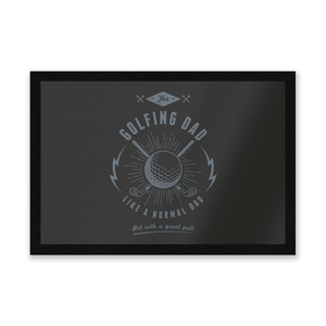 Golfing Dad Entrance Mat