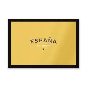 Espana La Roja Entrance Mat