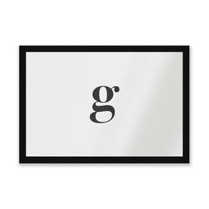 G Entrance Mat