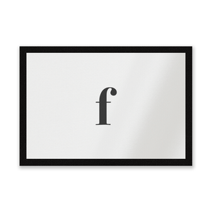 F Entrance Mat