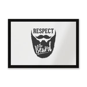 Respect The Beard Entrance Mat