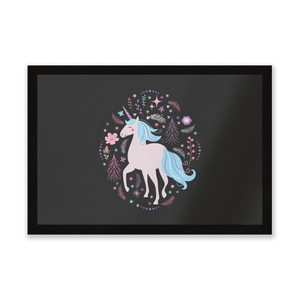 Pink Unicorn Entrance Mat