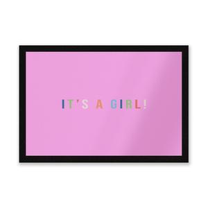 It's A Girl Entrance Mat