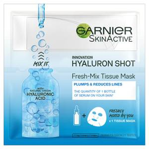 Garnier Fresh Mix Tissue Face Mask with Hyaluronic Acid (1 Mask)