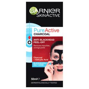 Garnier Pure Active Charcoal Anti-Blackhhead Peel Off Mask 50ml