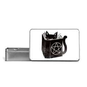Satanicat Metal Storage Tin