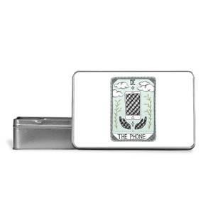 The Phone Metal Storage Tin