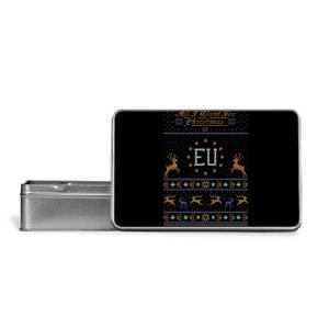 All I Want For Christmas Is EU Metal Storage Tin