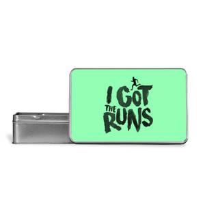 I Got The Runs Metal Storage Tin