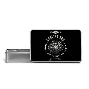 Cycling Dad Metal Storage Tin