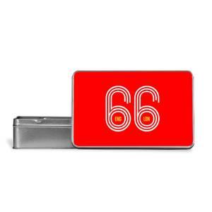England 66 Metal Storage Tin