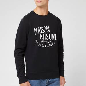 Maison Kitsuné Men's Palais Royal Sweatshirt - Black