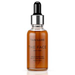 Tan-Luxe The Face Anti-Age Rejuvenating Self-Tan Drops 30ml - Medium/Dark