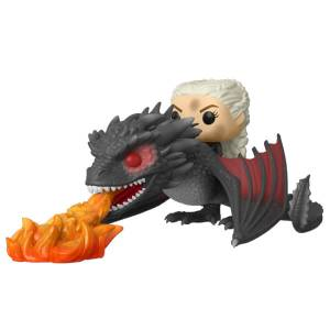 Game of Thrones - Daenerys a cavallo di Drogon Figura Pop! Ride