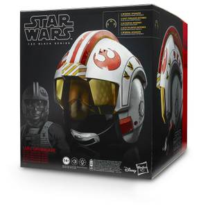 Black Series Star Wars Hasbro - Réplique du casque de Luke Skywalker - Simulation de batailles