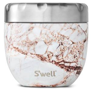 S'well Eats 2 in 1 Calacatta Gold Nesting Food Bowl 21.5oz