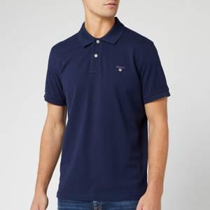 GANT Men's Original Pique Polo Shirt - Evening Blue