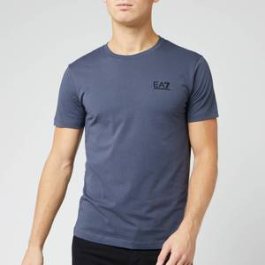 Emporio Armani EA7 Men's Small Logo T-Shirt - Ombre Blue