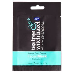 Boots Tea Tree and Witch Hazel Charcoal Face Mask